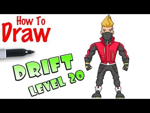 How To Draw Fortnite Characters Youtube With Images Easy