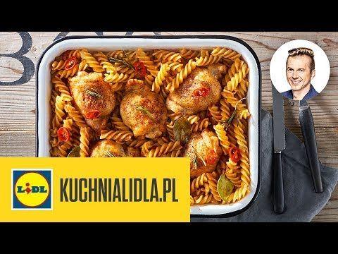 Danie Jednogarnkowe Z Kurczakiem I Makaronem Karol Okrasa Kuchnia Food Chicken Wings Chicken