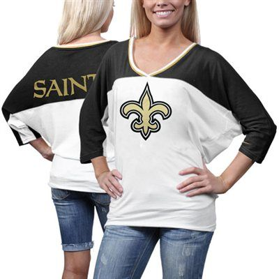 Men's New Orleans Saints Nike Black Logo T-Shirt