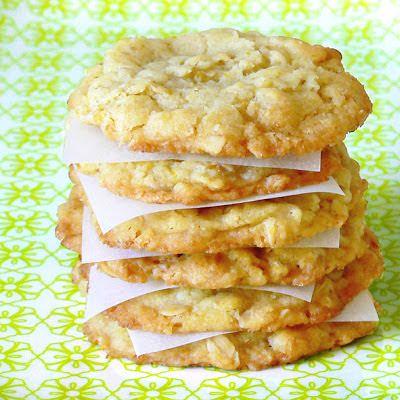 Cakes in the city: Cookies à l'orange et aux flocons d'avoine