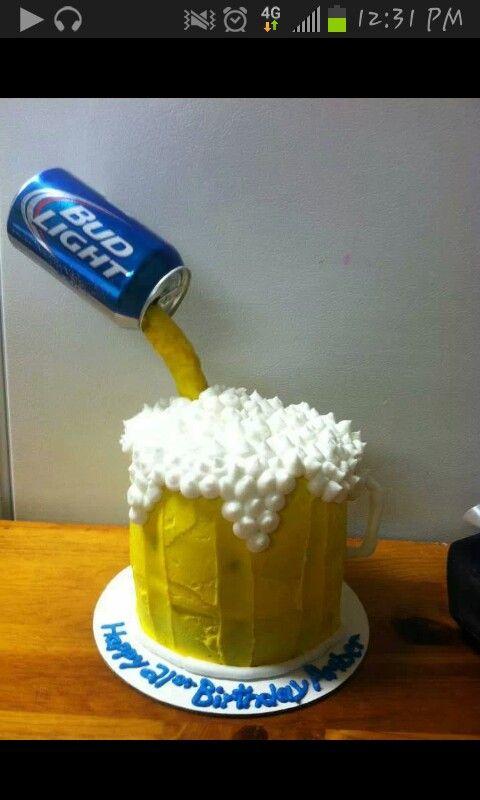 Beer Birthday Cake I Love Beer Beer Loves Me