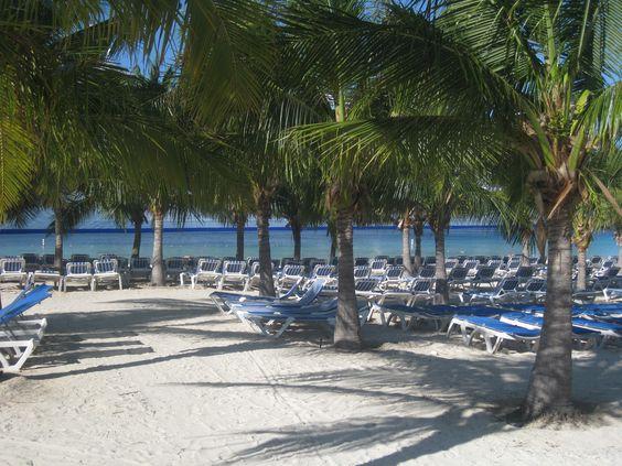 The beach at Margaritaville in Grand Turk.