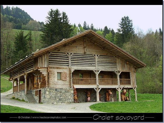 ferme chalet typique de haute savoie france country house pinterest photos et chalets. Black Bedroom Furniture Sets. Home Design Ideas