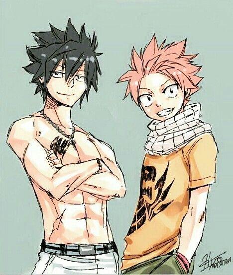 Natsu and gray