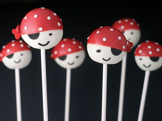 @Megan Ward Ward Monaghan-Tandberg - Pirate Cake Pops :) These are the ones in my book.