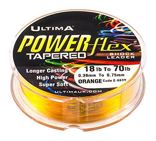Ultima Powerflex Strong High Visibility Shock Leader