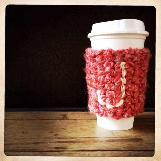 I don't own a monogrammed sweater, but I'll be damned it my coffee cup has to go without.