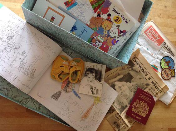 box of memories tumblr - Pesquisa Google