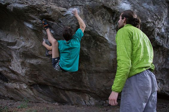 Boulder en El Chaltén