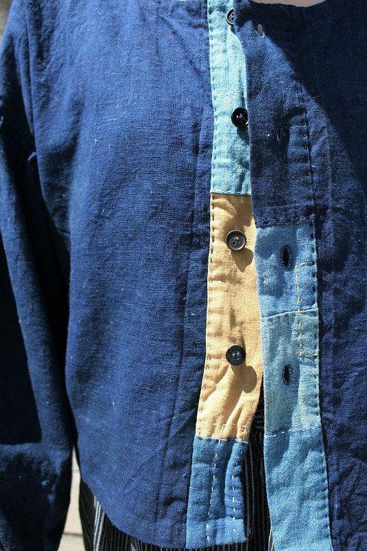 * Japan heimischen Bewohner Sasaki Shop offizielle online-shop, bitte siehe.  Hier finden Sie Kleidung in unserem Shop Marken Sasaki (Sasakijirushi).  Materialien, die wir verwenden, Indigo wurde in der Meiji-Ära Japans vor kurzem verwendet.  Charakteristisch für Ärmel, Schulter in sammelt Blätterteig Ärmel,  Auch put bildenden Teil der Manschette, flauschige Brüste zu sammeln und war auf dem Ärmel.  Gibt es Auswirkungen auf dem Ärmel, so dass Körperteile ist einfaches sauberes Design…