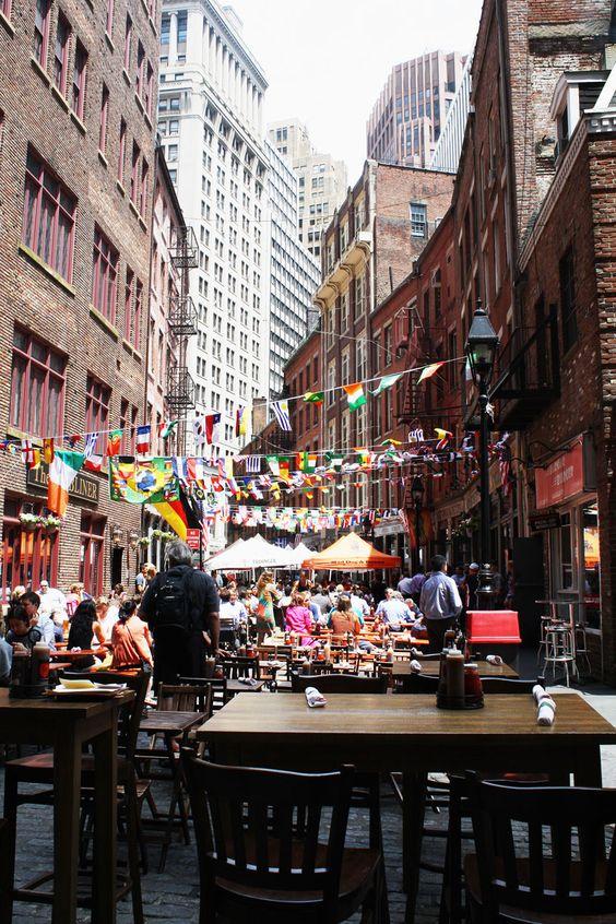 Soho, Lower Manhattan et Chinatown. New-York. La râpe à fromage