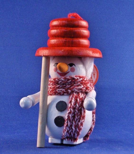 Steinbach Ornament Snowman 2004