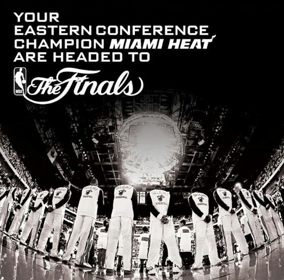Eastern Conference Champions Miami Heat | NBA Playoffs ...