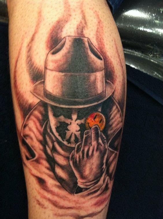 Tatuagens inspiradas pela série Watchmen | www.geekdicas.com.br