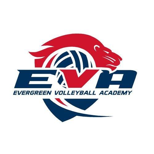 Eva And Evergreen Volleyball Academy Elite Volleyball Club Needs A Stylish Club Logo Evergreen Volleyball Ac Logo Design Contest Logo Design Volleyball Clubs