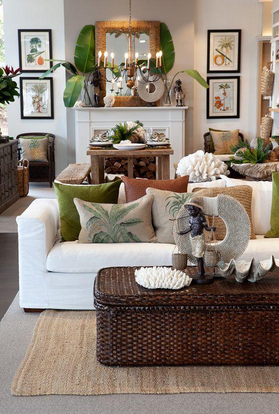 Tropical Decor Trend Interior Design Inspirations Tropical Living Room Tropical Home Decor British Colonial Decor