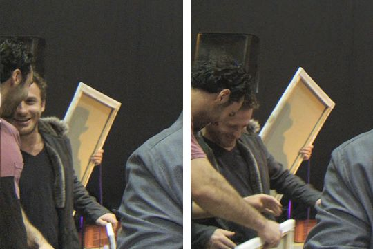 Aidan and Dean, The Hobbit, The Last Stage. July 26th, 2013