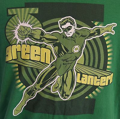 Green Lantern T-shirt DC Comic Originals Sz XL 100% Cotton