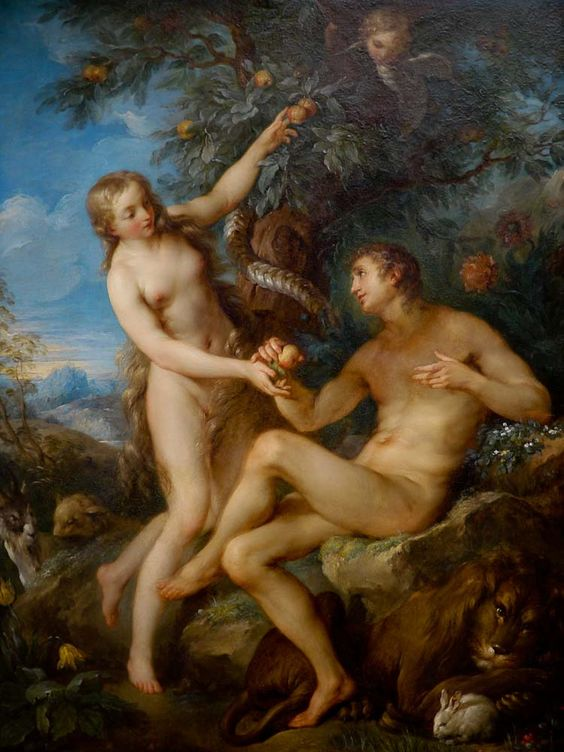 gods relationship with adam and eve before the fall