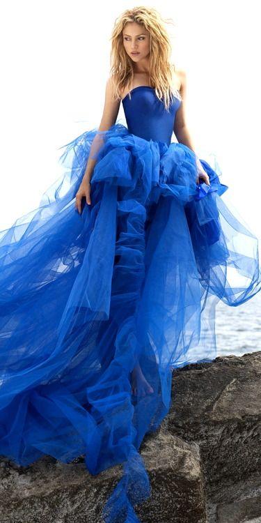 Stunning!  #blue #fashion #style