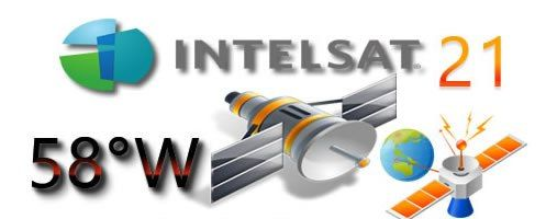 Lista de tp apontamento satélite intelsat 21 58w atualizada | Lista