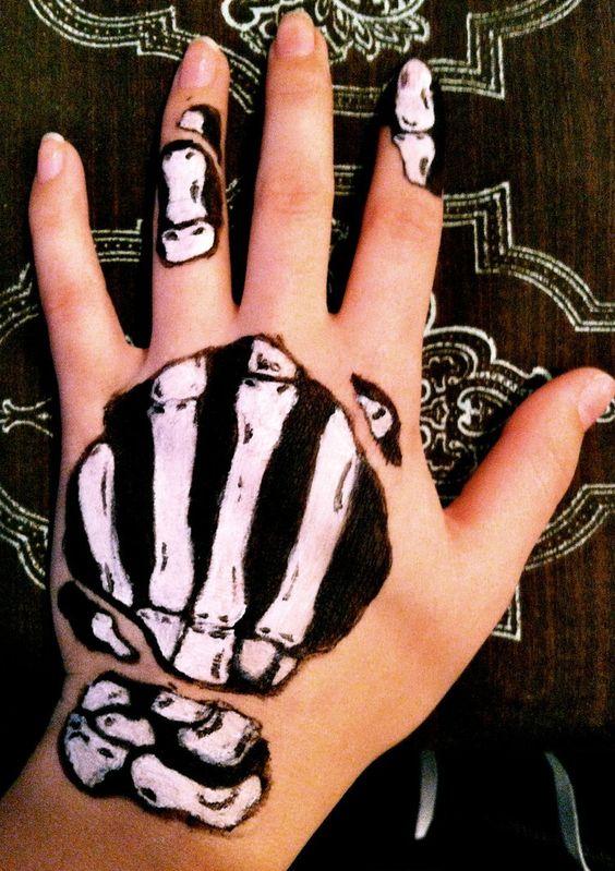 Hand Skeleton by ~IndigoMoon09 on deviantART