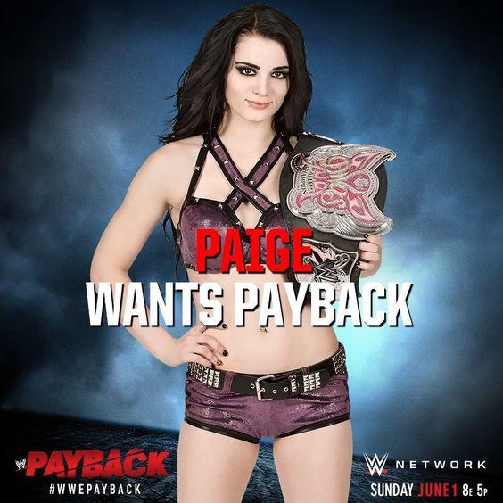 WWE Payback 2014, Paige