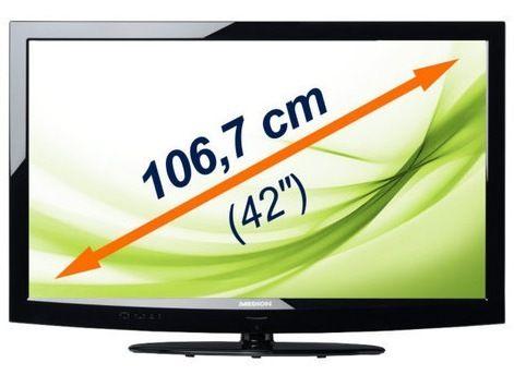 Ebay Wow – MEDION MD 30566 X16998 – 42 Zoll Full HD LED-Fernseher für 399 Euro