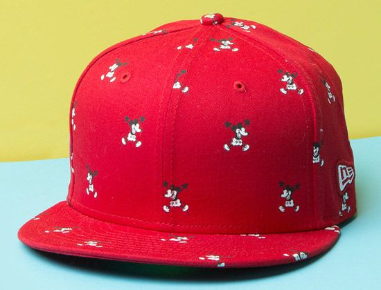 Happy Steamboat Willie New Era 59Fifty Fitted Cap by NEW ERA x DISNEY
