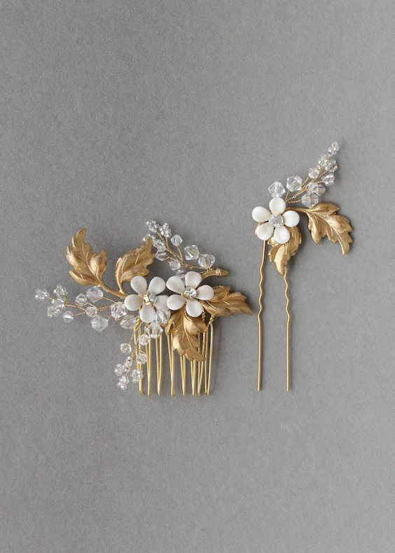 LAURETTE bridal hair pieces_Percy Handmade BHLDN 3