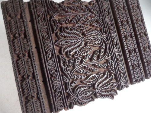 important tampon a batik indien ancien pour impression sur tissu rajasthan b4 design pinterest. Black Bedroom Furniture Sets. Home Design Ideas
