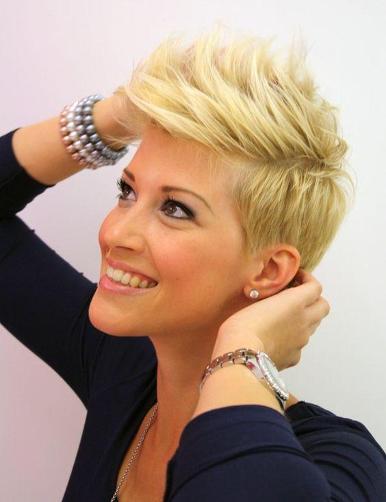 à la mode : #coiffure femme #cheveux courts 2014 | korte kapsels ...