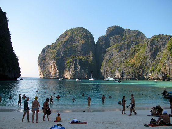 Maya Beach. Mar de Andamán. Tailandia