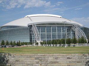 Dallas Cowboys - AT&T Stadium - Capacity: 105,000 - 2009 to Present - (Stadium Formerly Named Cowboys Stadium 2009 to 2013 & AT&T Stadium 2013 to Present)