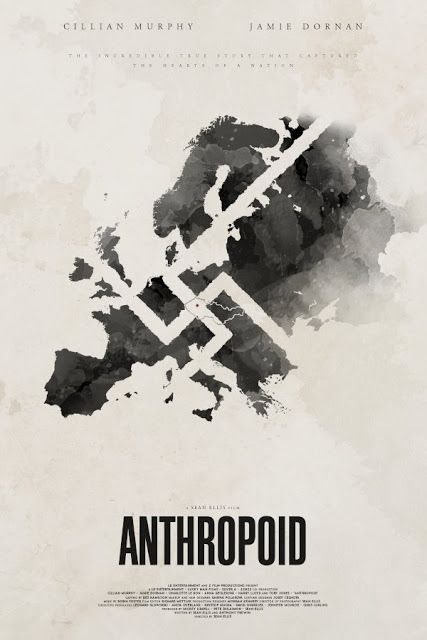 Jamie Dornan Life: First Official Poster of 'Anthropoid':
