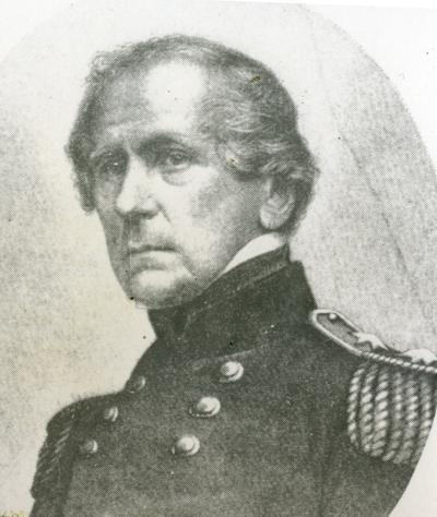 Major General John E. Wool commanding Western Dept. San Francisco, California 1854-1857