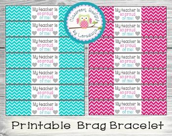 My Teacher Is So Proud Of Me Brag Bracelet