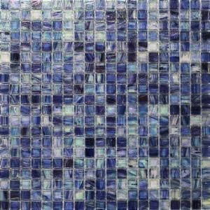 Splashback Tile Breeze Blueberry Stained Glass Mosaic Wall Tile - 3 in. x 6 in. Tile Sample R5B13 at The Home Depot - Mobile