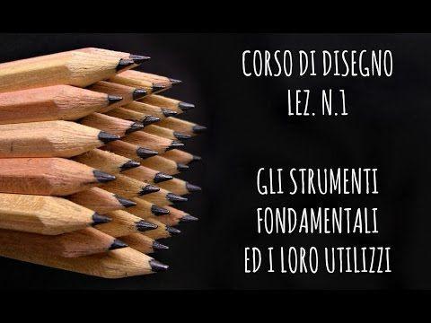 Corso di Disegno, lez.n.1 Gli strumenti fondamentali e come si utilizzano (Disegno) Arte per Te - YouTube