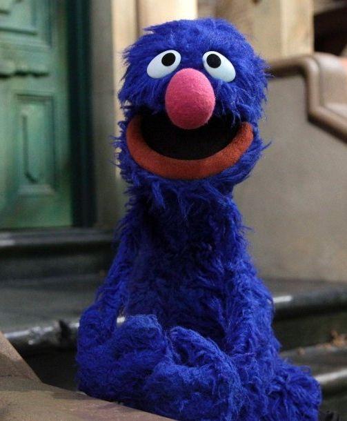 Grobi aus der Sesamstraße