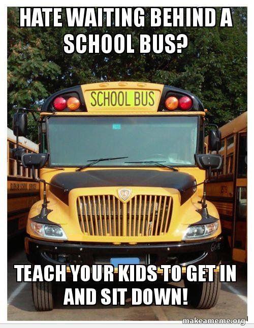 Fuck the nurse school bus