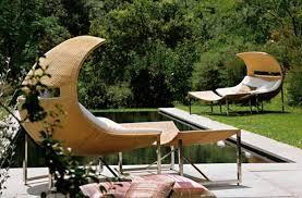 Accattivanti sedute da patio contemporanei creano meravigliosi elementi di #Arredi per esterni by Eric Mullerbeck