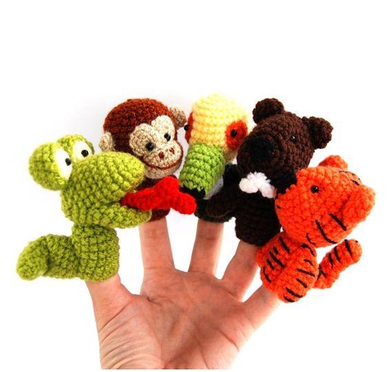 Fingerpuppen, Puppen and Tiger on Pinterest