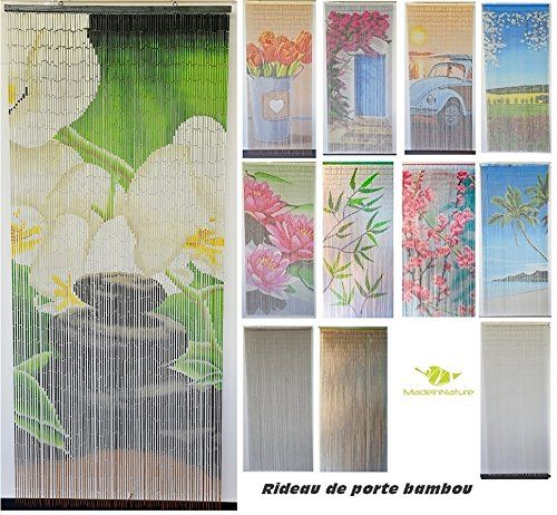 kuszkusz keves ido rideau porte fenetre bambou amazon