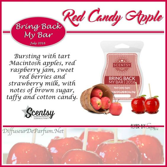 : Bursting with tart Macintosh apples, red raspberry jam, sweet red ...