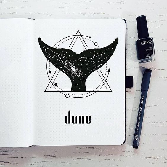 Bullet Journal à thème : Sous l'océan