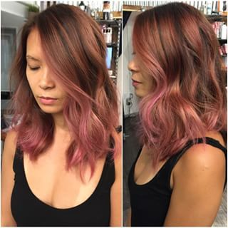 rose gold ombre short hair , Google Search