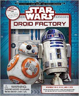 Star Wars: Droid Factory (Star Wars: Journey to the Force Awakens) Hardcover – November 3, 2015 by Daniel Wallace (Author) Disc: Affiliate Link