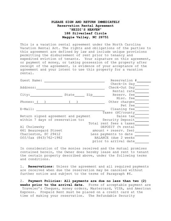 House Lease Agreement Template – House Rental Agreements Templates