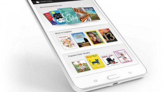 Galaxy Tab 4 Nook Combines Samsung Harware with Barns & Noble Software